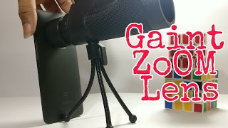 2Km Gaint Zoom Lens for ANY Mobile Phones