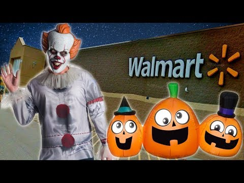 HALLOWEEN 2019 At WALMART !! Awesome Inflatables!