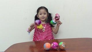 Bóc trứng đồ chơi xe hơi, doreamon, minion, siêu nhân người nhện thumbnail