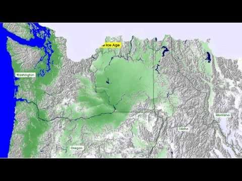 Missoula Floods Video | an animated illustration of one scenario