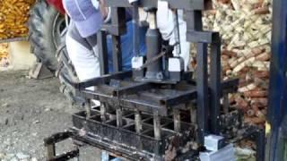 25 briquette press