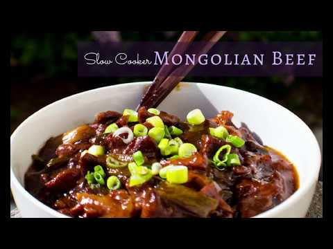 Slow Cooker Mongolian Beef | Bake It With Love