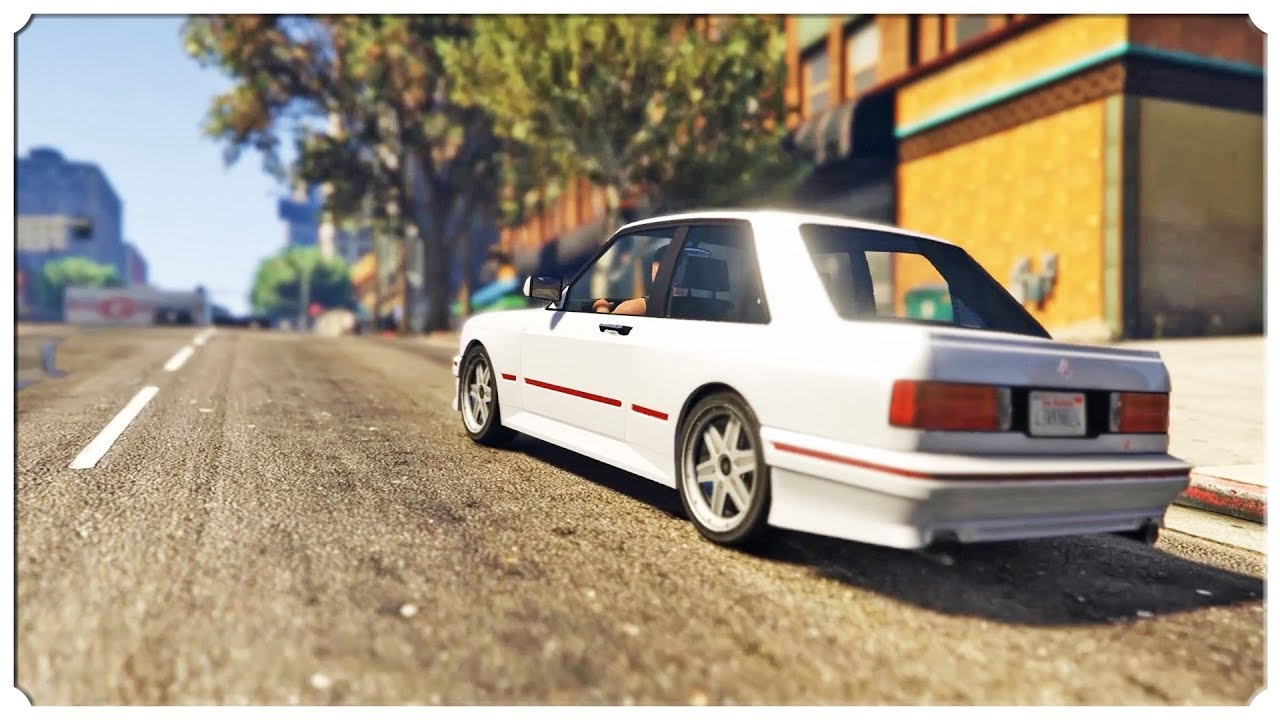 GTA 5 TUNING – BMW E30 W GTA 5!!