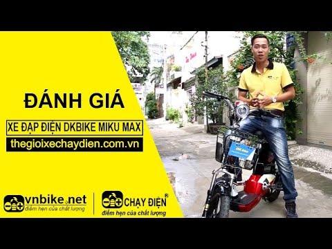 Đánh giá xe đạp điện Dkbike Miku Max
