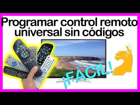 Códigos programación de Control Remoto Universal