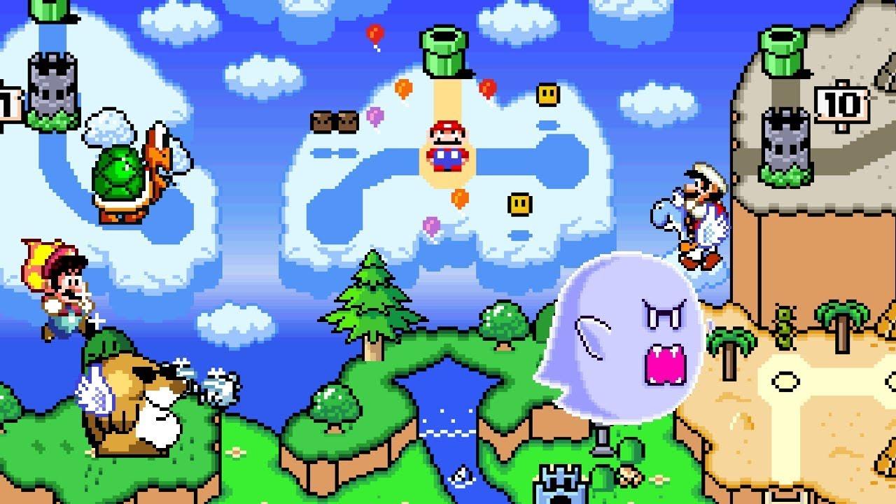 New Super Mario World 2: Around The World (2of3)