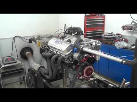 WPM 1209HP 632 BBC MARINE RACING ENGINE