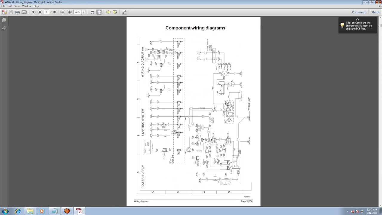 small resolution of volvo trucks electrical wiring documentation 2016 youtube rh youtube com volvo truck headlight wiring diagram volvo