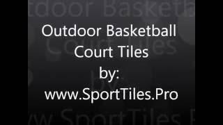 Download EZ COURT™ Sport Tiles Outdoor Basketball Court Tiles For Backyards and Schools