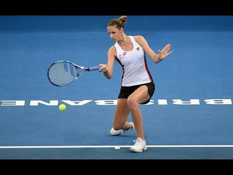 2017 Brisbane International Second Round | Karolina Pliskova vs Asia Muhammad | WTA Highlights