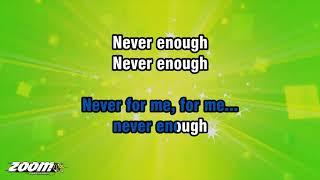 Kelly Clarkson - Never Enough - Karaoke Version from Zoom Karaoke