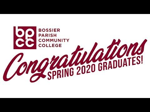 Bossier Parish Community College Virtual Graduation - Spring 2020