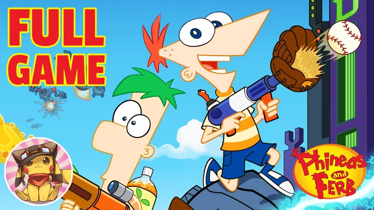 PHINEAS AND FERB Across the 2nd Dimension – FULL GAME (Disney Movie Game Walkthrough) [1080p]