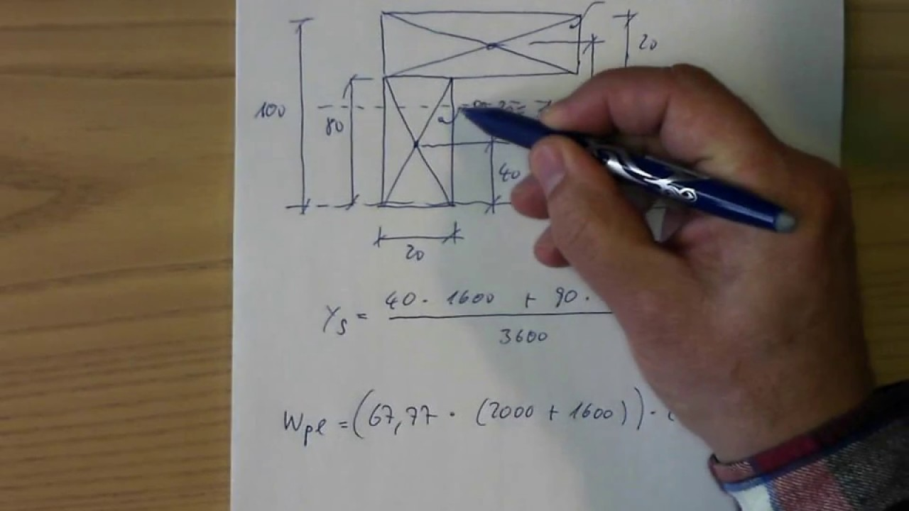 plastic section modulus example