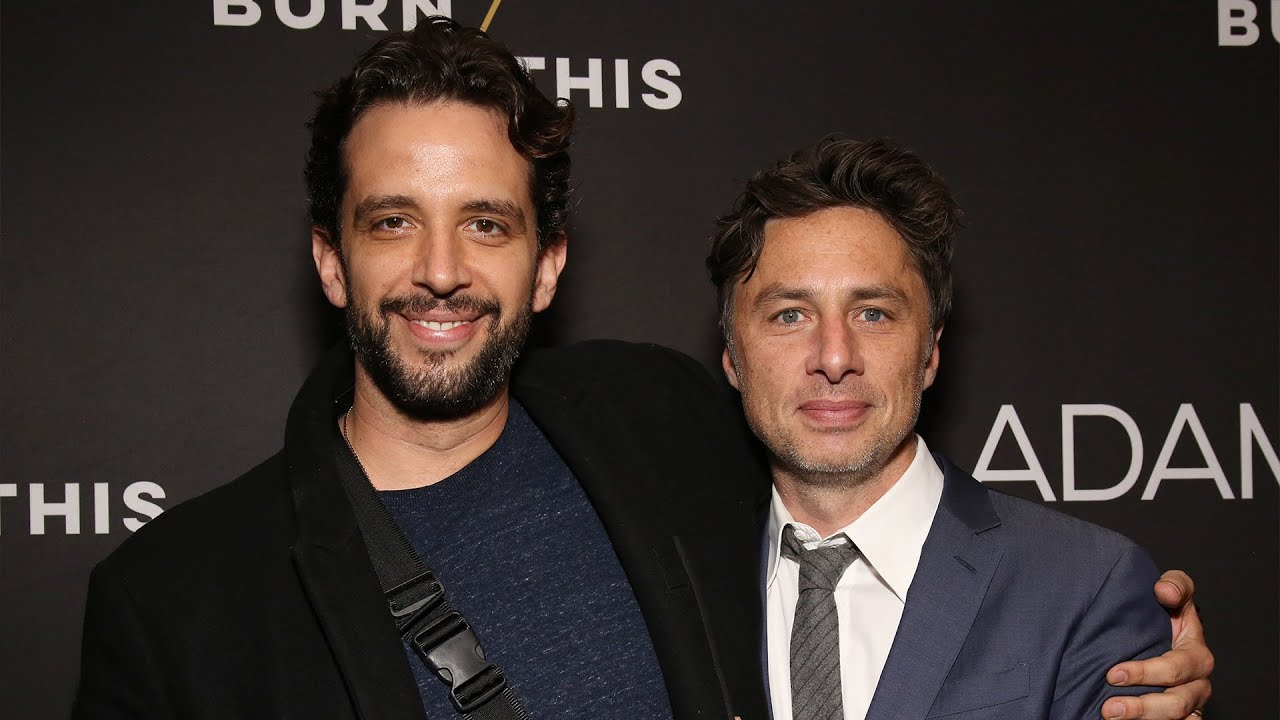 Zach Braff Shares the LAST Text Nick Cordero Sent Him Before His Death