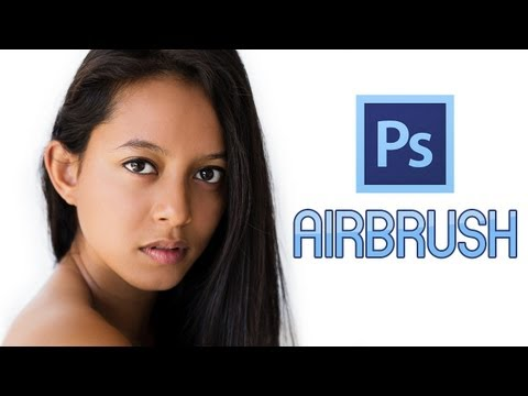 Photoshop CS6 - Simple Airbrushing!