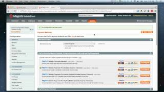 Magento - How to set up PayPal Pro & Express Checkout