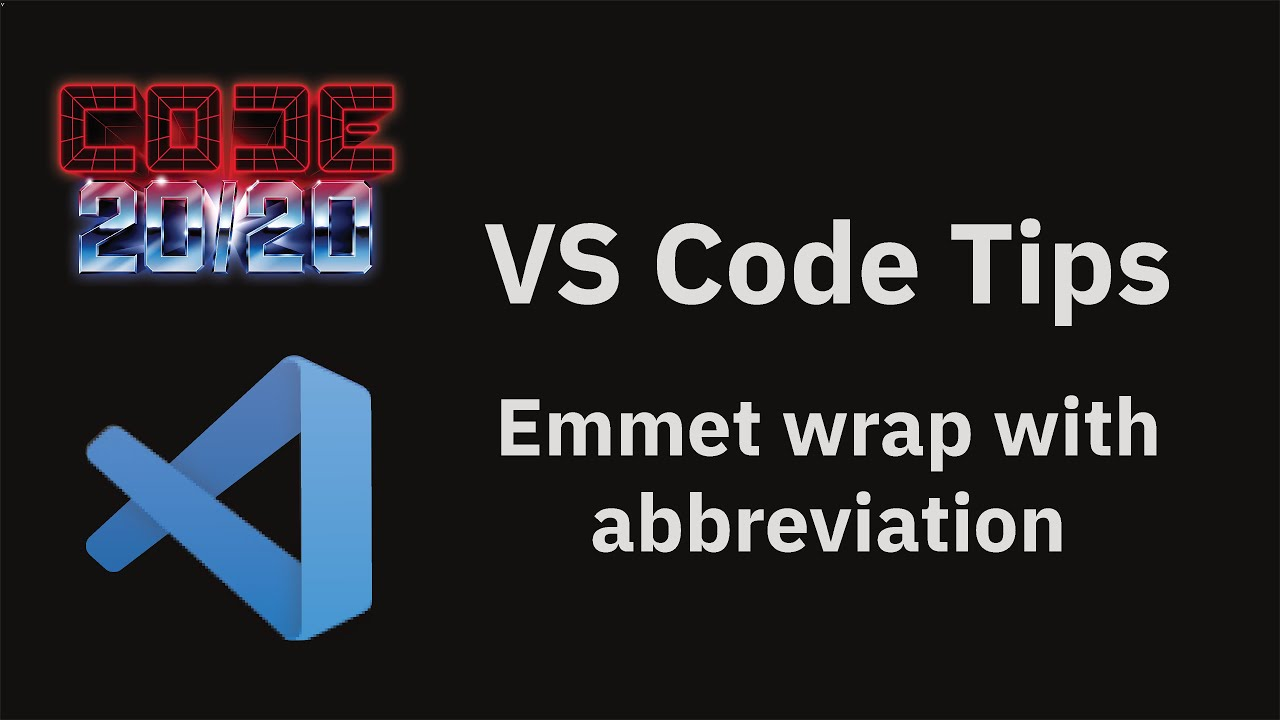 Emmet wrap with abbreviation