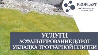 видео Укладка тротуарной плитки или асфальтирование?
