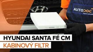 Jak vyměnit kabinový filtr na HYUNDAI SANTA FÉ CM [NÁVOD]