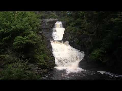 Delaware Water Gap National Recreation Area waterfalls
