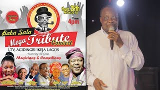 KING SUNNY ADE ORGANISED BABA SALA MEGA TRIBUTE CONCERT A GREAT ICON WE CAN NEVER SEE AGAIN