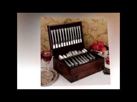 Reed and Barton Stainless | Great Silverware Chest | Reed & Barton Bristol Flatware Chest