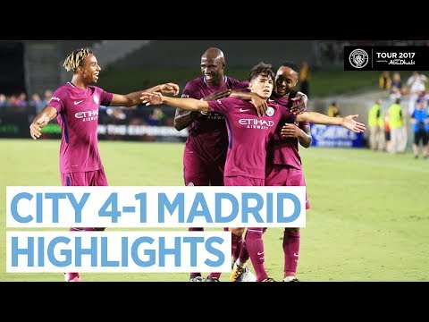 Man City vs Real Madrid 4-1 | All Highlights & Goals - Official HD 27 July 2017