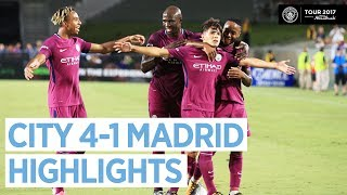 Man City beat Real Madrid 4-1 in Los Angeles with goals from Nicola...