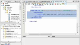 """1.""""Hola Mundo"""" Flex con Java 2 de 3"""