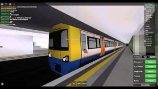 Roblox Roblox Mind the Gap Transport Simulator (WIP) VERY RARE class 378 on Sub-Surface Part 2