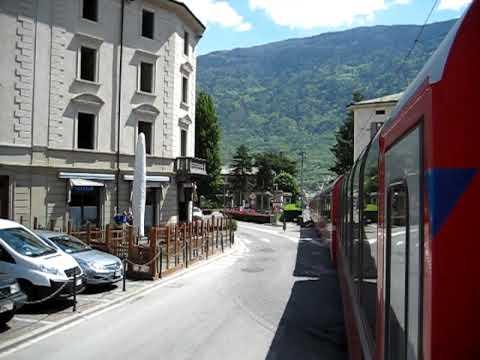BEX Tirano Einfahrt (Bernina Express)