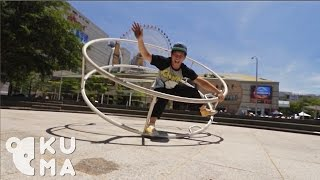 This Human Hamster Wheel is One Crazy Ride! - German Wheel