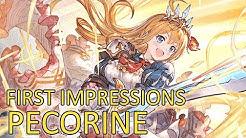 【Granblue Fantasy】First Impressions on Pecorine
