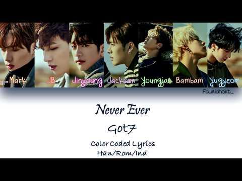 GOT7 – Never Ever | Indo sub