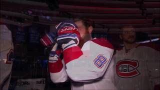 Pregame Intro/Anthems - Montreal Canadiens vs New York Rangers ECQF Game 3 04/16/17