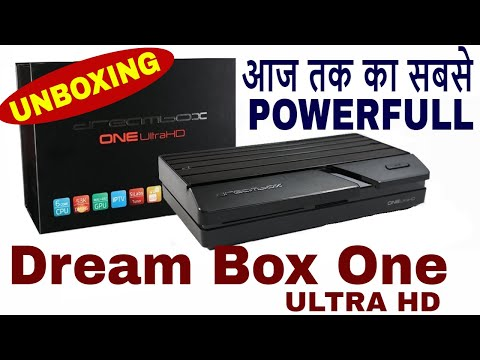 Dreambox One Ultra HD Unboxing Video,Best Linux Enigma2 Set Top Box with Dual Boot,Android+Dvbs2