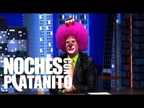 Lina Santos en Noches con Platanito