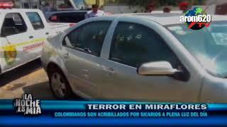 En el Perú sicarios asesinan a 3 Colombianos de seis balazos en lujoso distrito de Miraflores
