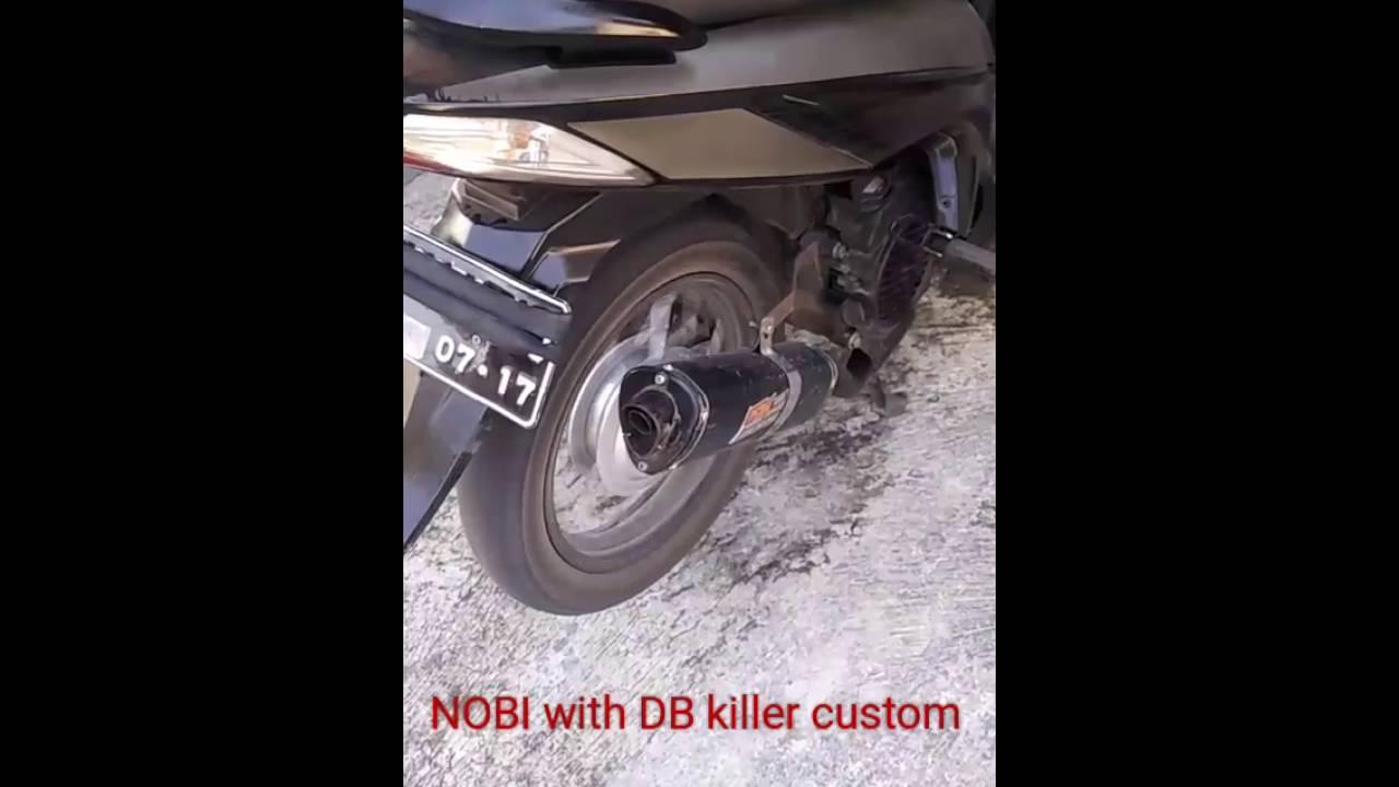Vario 110 Knalpot Nobi Db Killer Tanpa Youtube Prospeed Mf Series Honda Sonic150r