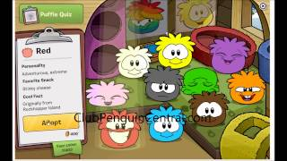 How To Get a Puffle On Club Penguin - CP...