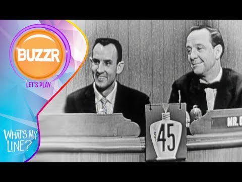 What's My Line 1956 With a Man Who Counts Whales for a Living | Buzzr