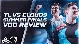 Teamliquid VS Cloud9 2018 NALCS Summer Finals [ Vod Review ]