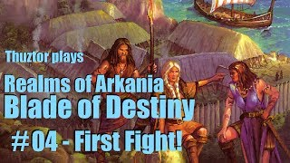 04/BoD | First Fight! | REALMS OF ARKANIA Trilogy | Let's Play