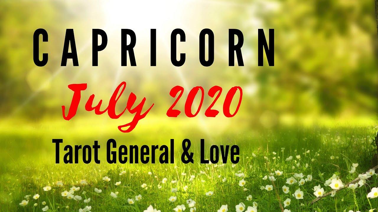 CAPRICORN Tarot JULY 2020 Hidup & Cinta   Bahasa Indonesia