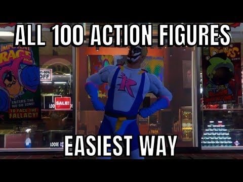 GTA 5 GUIDE: ALL 100 COLLECTIBLE FIGURE LOCATIONS (EASIEST WAY) UNLOCK IMPOTENT RAGE OUTFIT