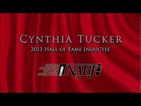 Cynthia Tucker HONOR- NABJ 2013 Hall of Fame