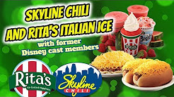 Skyline Chili and Rita's Italian Ice with former Disney cast members