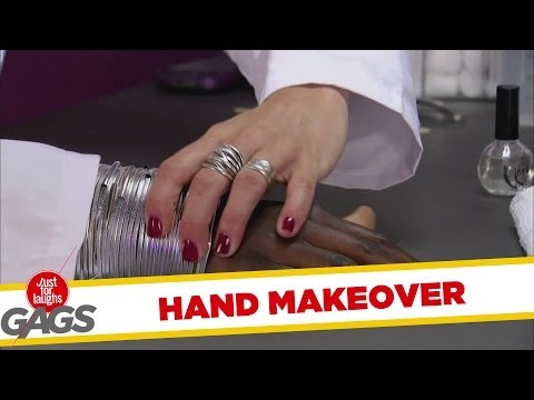 Full Hand Makeover Prank