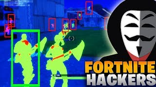 FORTNITE HACKERS & CHEATERS COMPILATION (WALL HACK, AIMBOT & MORE!)